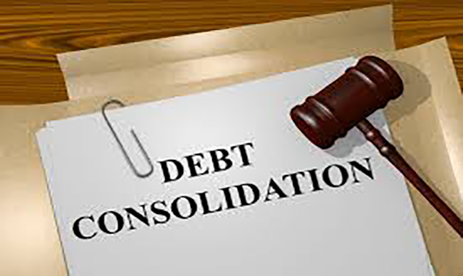 Consolidating debt services